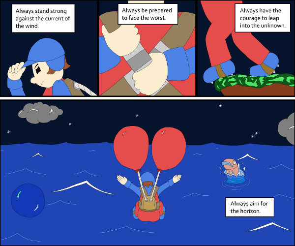 The Moral Of Balloon Fight By Glsnifit On DeviantArt