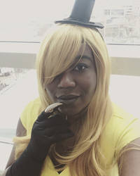 Fem! Bill Cipher Cosplay by sailorlovesong