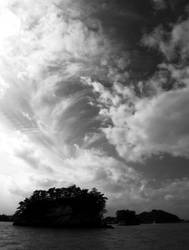 Matsushima - Pine Islands B+W by aileen