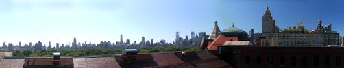 NYC Skyline Panorama by aileen