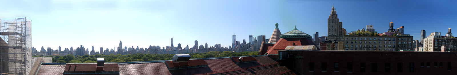 NYC Skyline Panorama by aileen