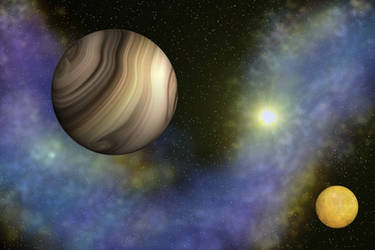 Planets by aileen