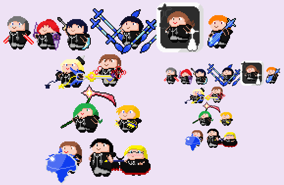 13 organized Songs by HalberdMel