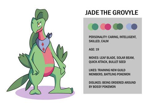 Jade the Grovyle