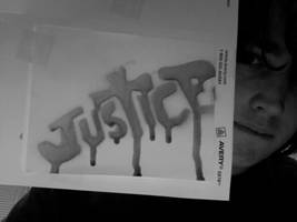 JUSTICE Sticker by roninmakeswaffles