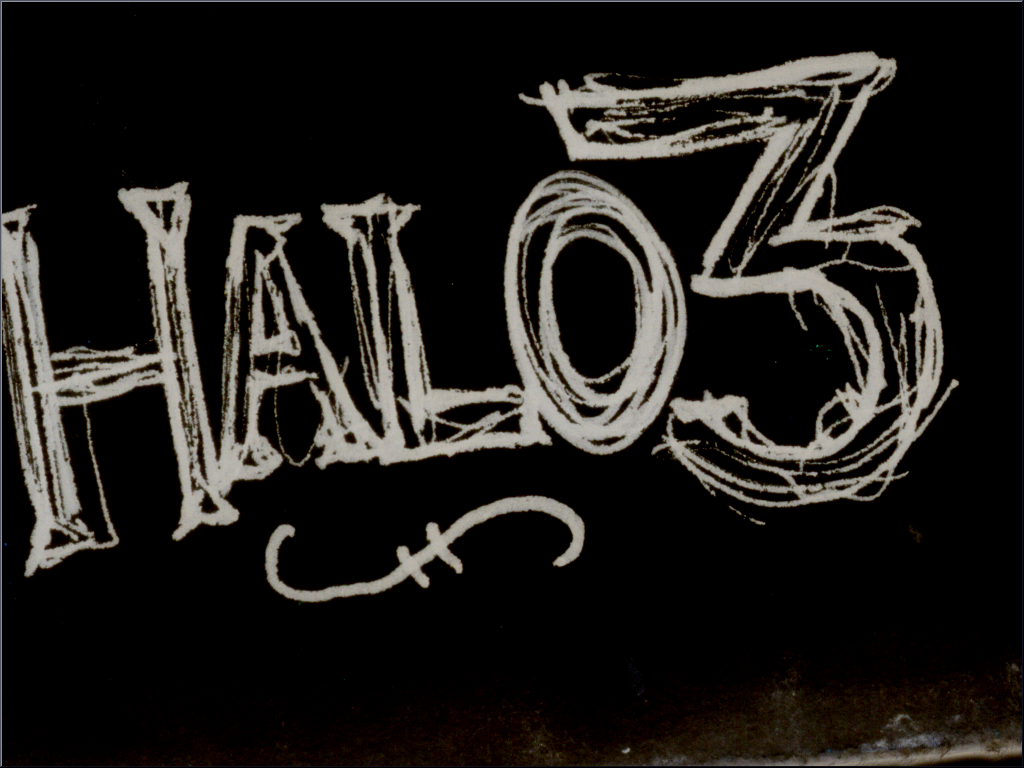 Halo 3 - Ink by roninmakeswaffles