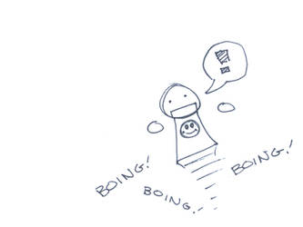 Boing, Boing by roninmakeswaffles