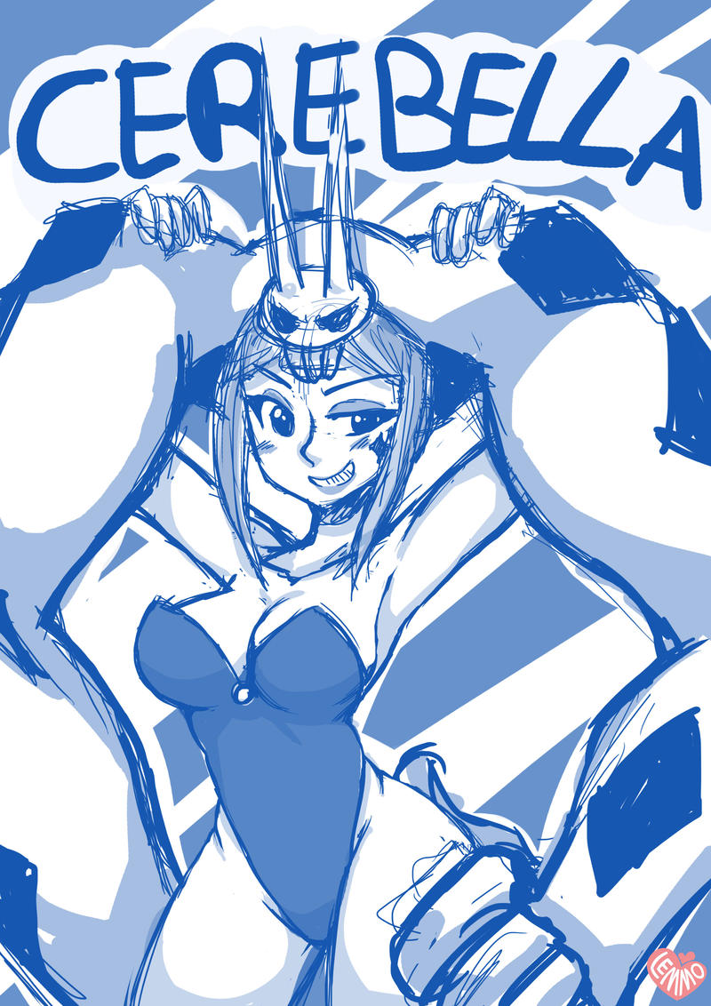 Cerebella skullgirls by CaptainLemmo