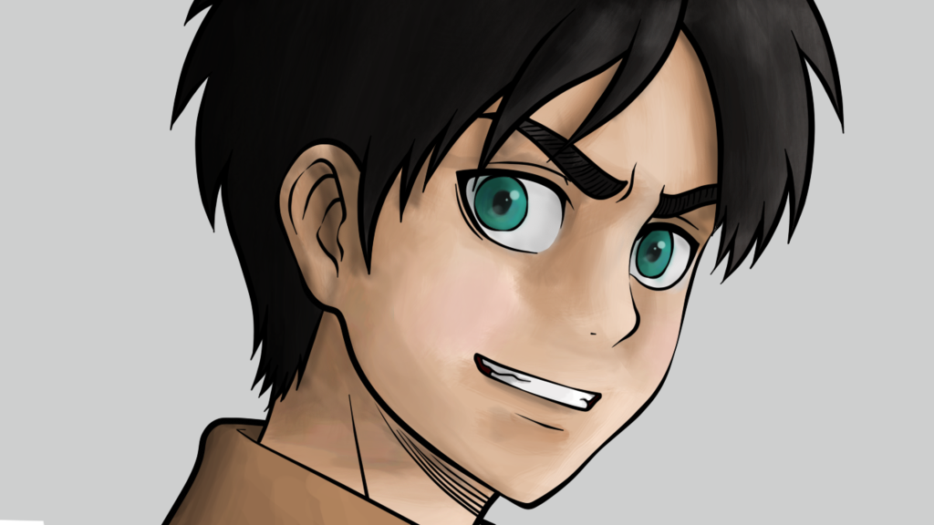Eren Coloreado De Prueba By ITostadita On DeviantArt