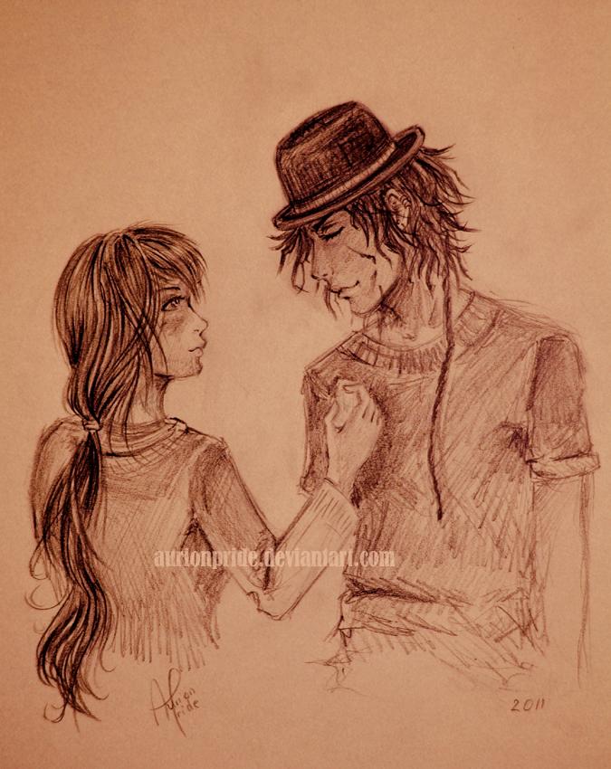 Free sketch for Odadjian by AurionPride
