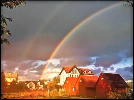 double rainbow by AurionPride