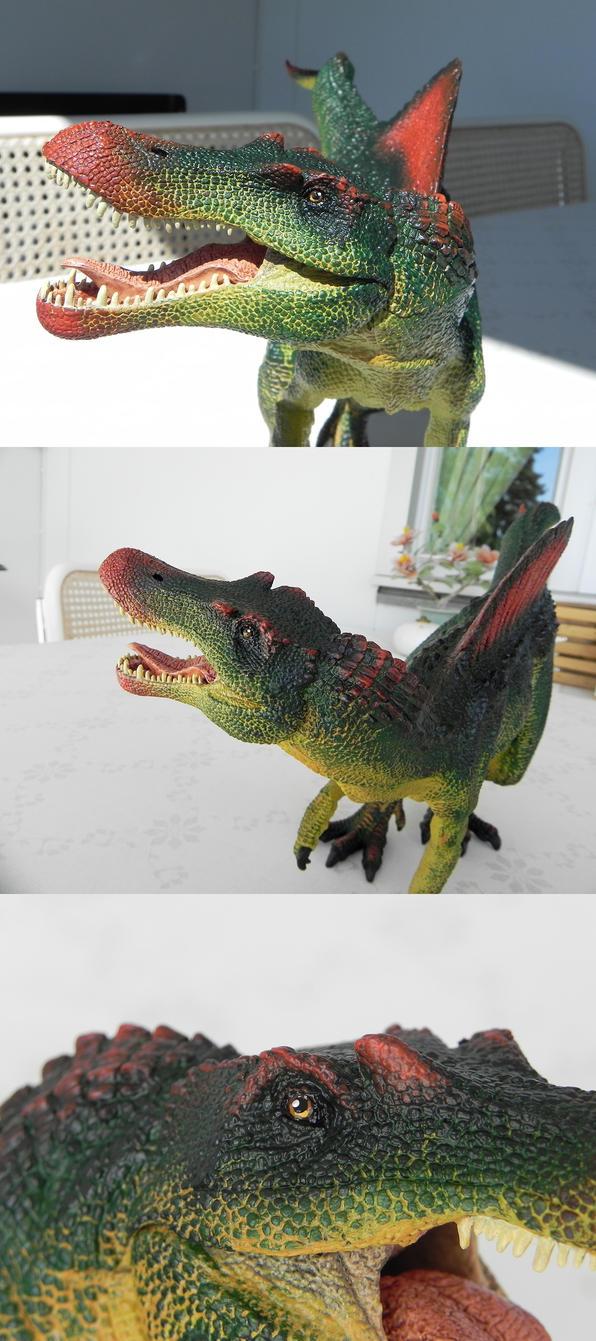 Spinosaurus New Look by YikYik