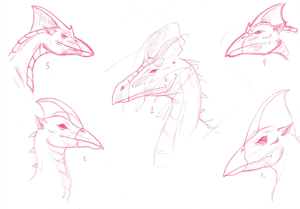 Dragon Doodles by YikYik