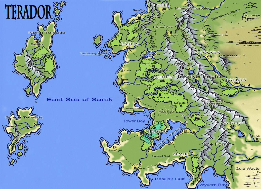 Random Map - Terador