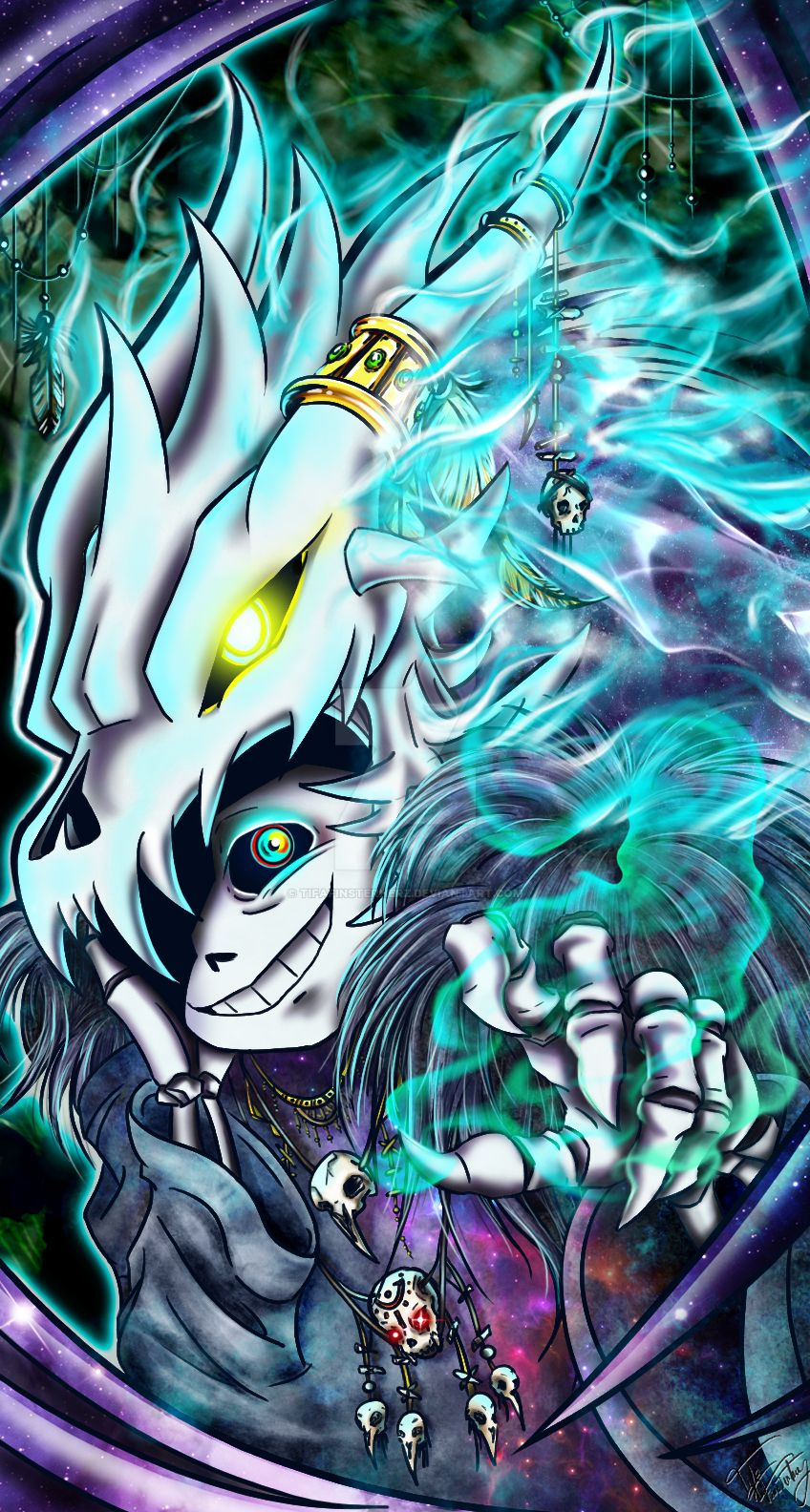 Sans guardian of death by TifaFinsterherz