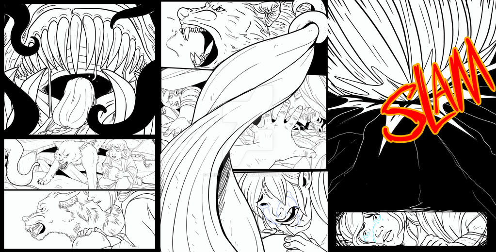 HWM ink pages by ReineofAberrants