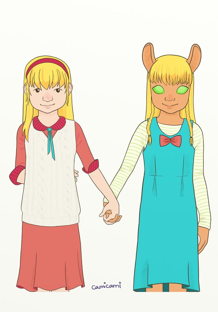 Klara and Maria by camiavellar