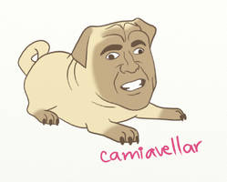 Pug Cage by camiavellar