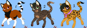 Free Warrior cat Adoptables 37