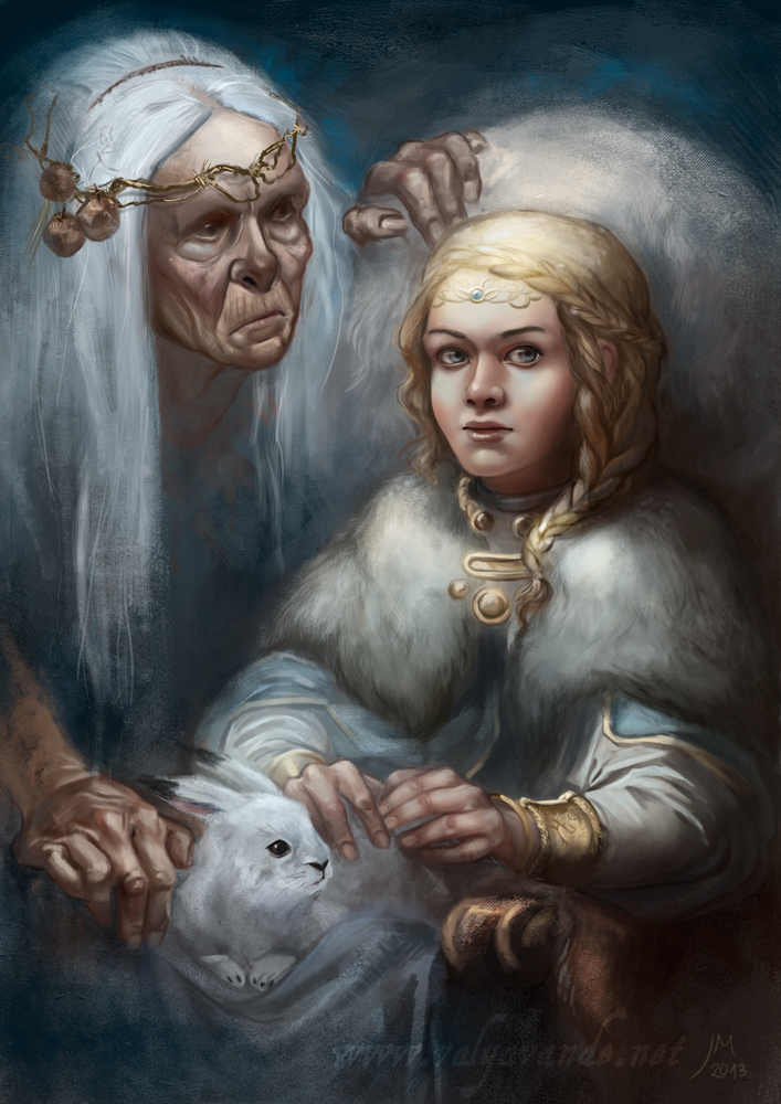 The gods of Winter by Valyavande
