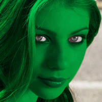 It's Not Easy Being Green (But She'll Manage)