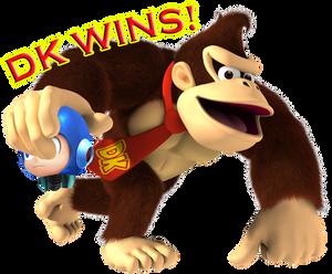 DK vs Mega Man ~ DK Wins!