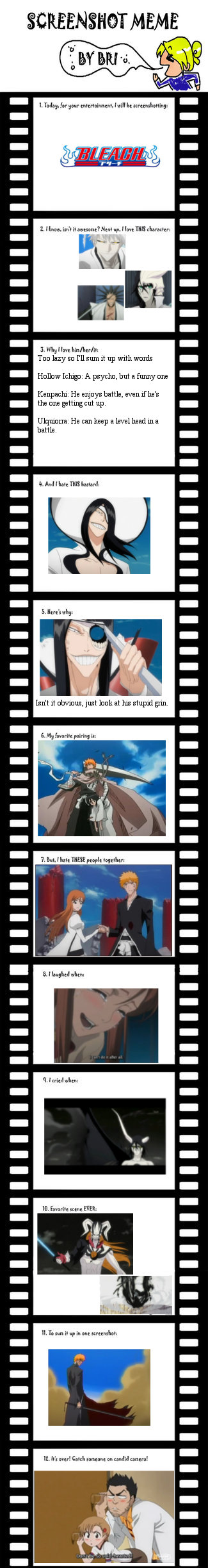 Bleach screenshot meme by Ilackskill