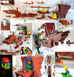 The Fireflower - Mighty LEGO Super Mario 3 airship