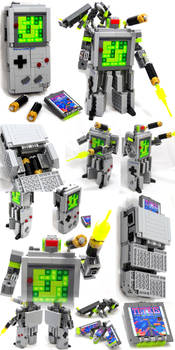 Domaster and Tetrawing - Game Boy / Tetris robots