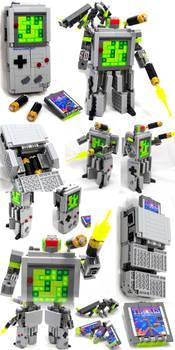 Domaster and Tetrawing - Game Boy / Tetris robots
