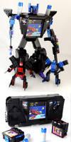 Gearhead - SEGA Game Gear Transformer of LEGO