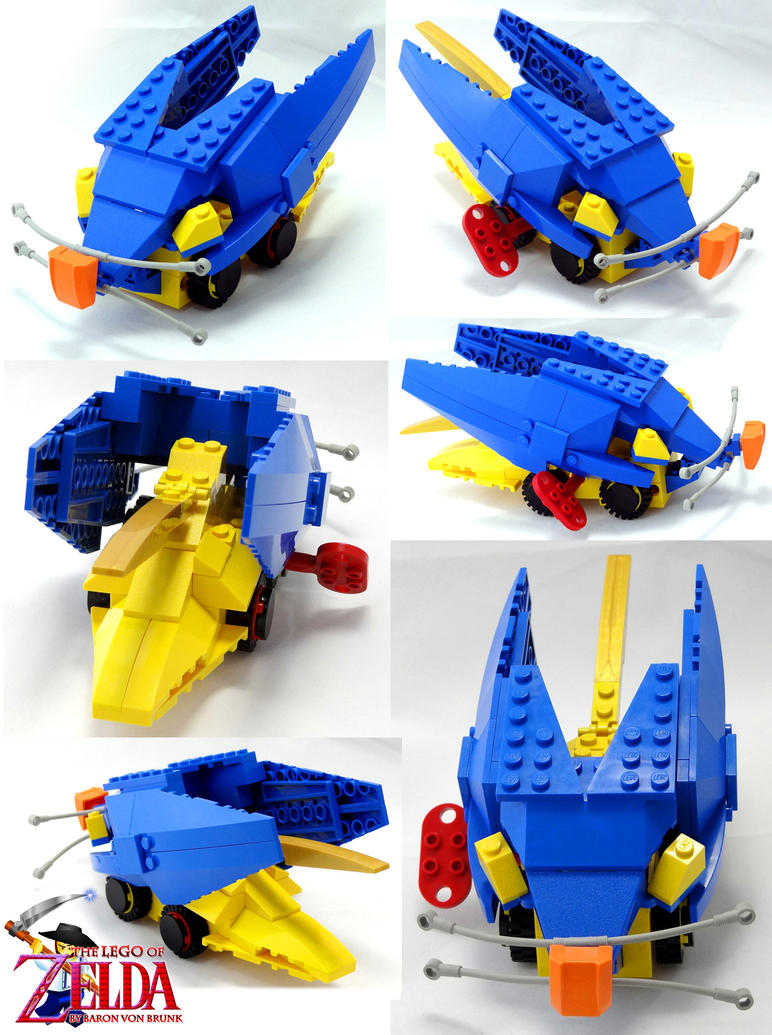 Motorized LEGO Bombchu by VonBrunk