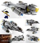 Miniature LEGO Serenity Ship