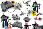 The LEGO / Nintendo 64 / Transformer project