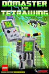 Domaster - LEGO Game Boy Transformer Print