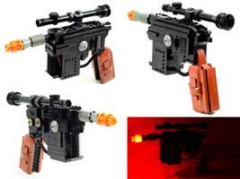 Electronic LEGO DL-44 Blaster by VonBrunk