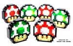 Electronic LEGO Super Mario Mushrooms