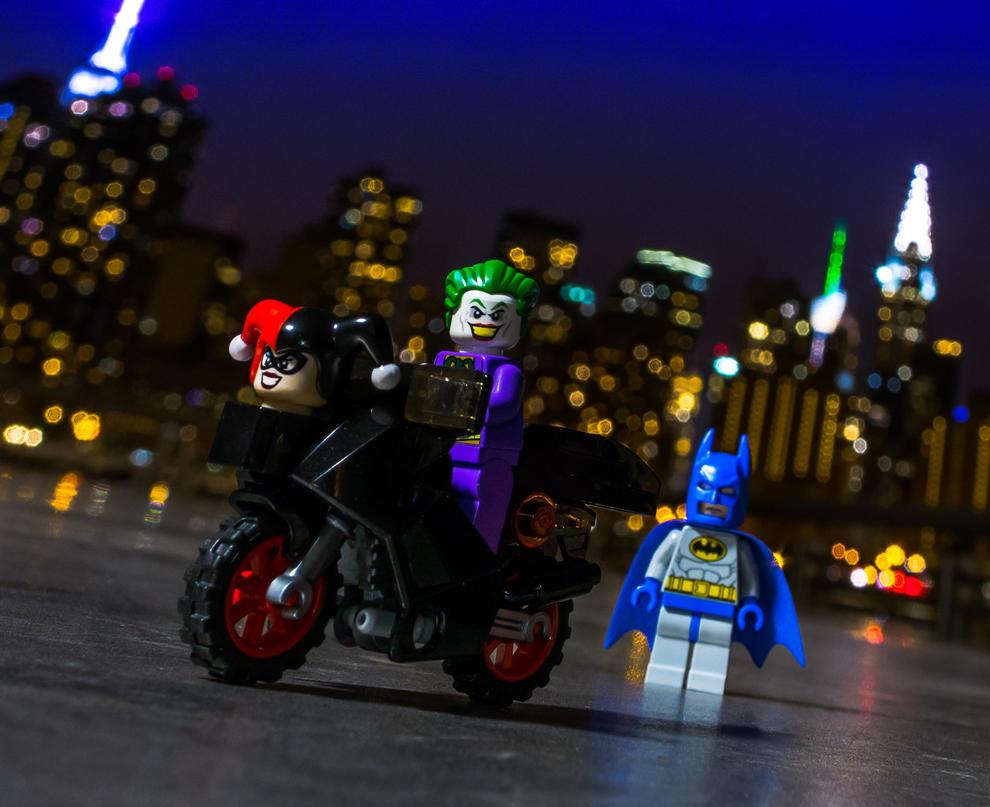 Riding His Harley by VonBrunk