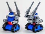 Micro-Scale RX-75 Guntank