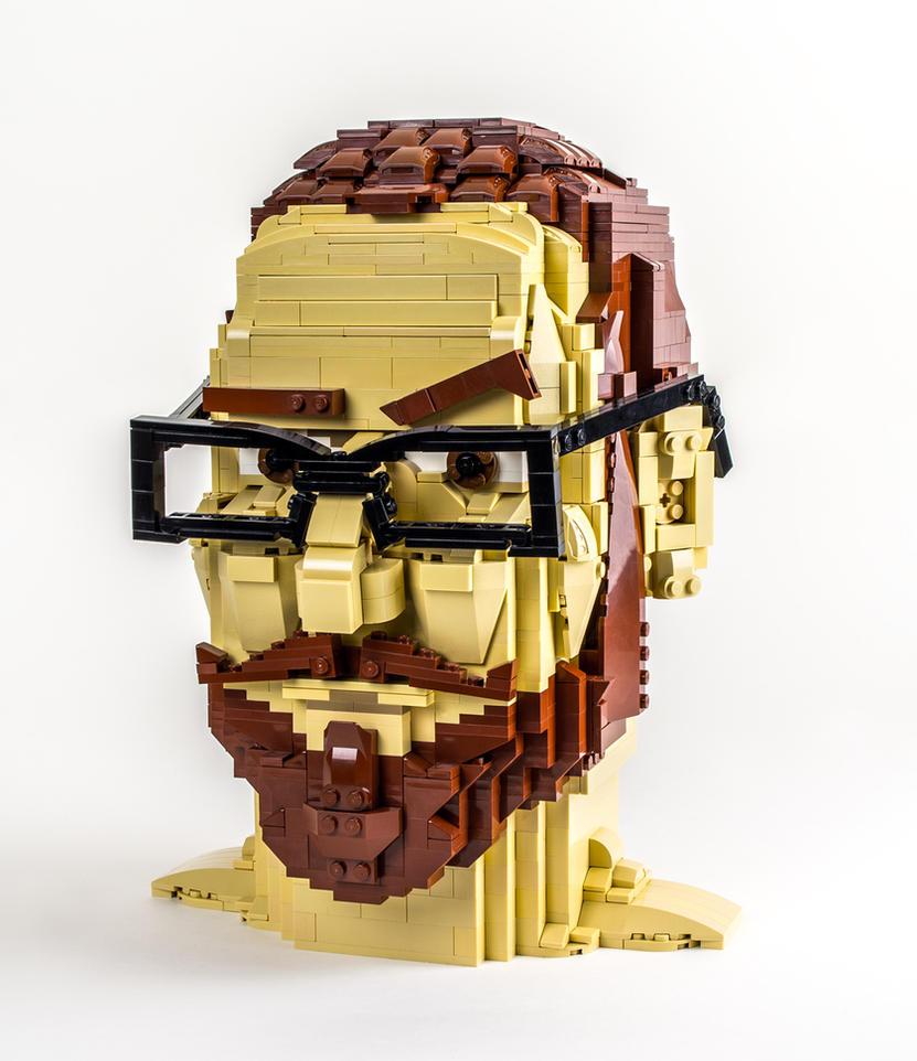 Brunk's Head by VonBrunk