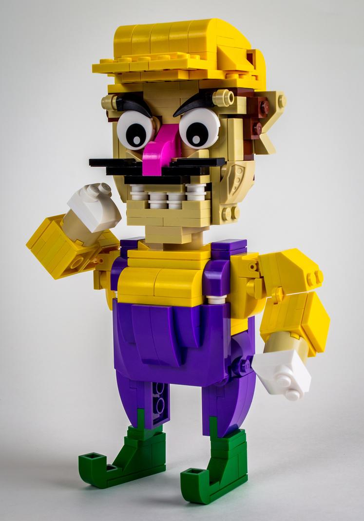 LEGO Wario by VonBrunk