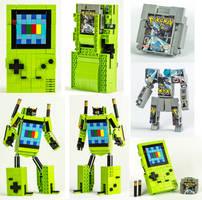LEGO Game Boy Color / Pokemon Silver Transformers by VonBrunk