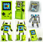 LEGO Game Boy Color / Pokemon Silver Transformers