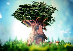LEGO Great Deku Tree