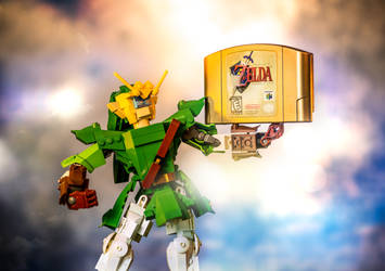 Mecha Link 2.0 Goes for the Gold by VonBrunk