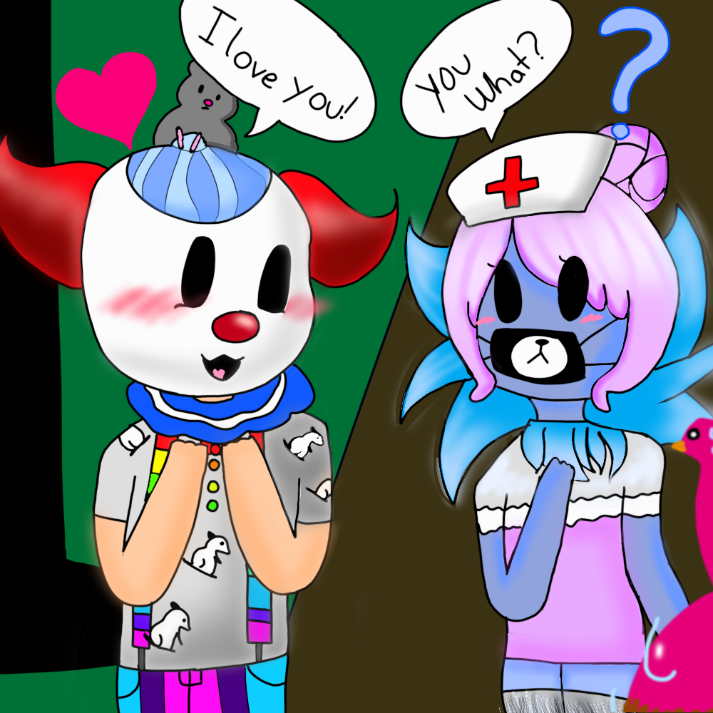 Roblox Character Flamingo Fan Art Z00zy Q And Morgenne By Snowyhope On Deviantart
