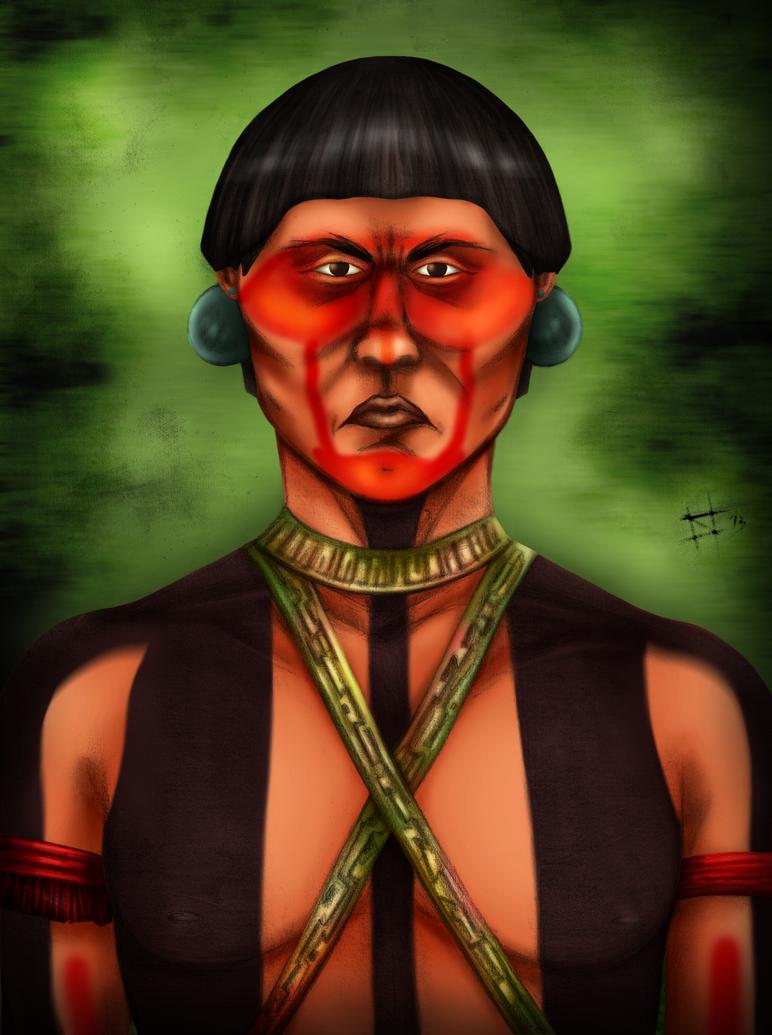 Amazonian Portrait by imperator-antea