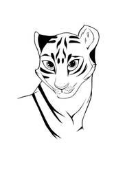 Tigress Vectorized by LarsEliasNielsen