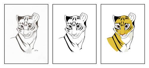 Tigress Workprogress by LarsEliasNielsen