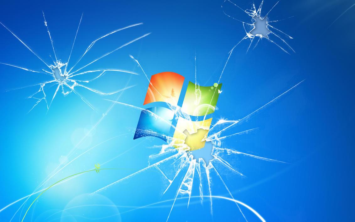 Broken Windows 7 by LarsEliasNielsen